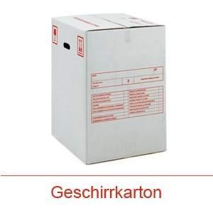Helvetia Transporte Verpackung Geschirrkarton